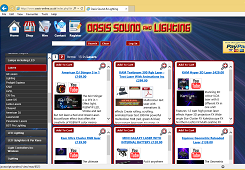 Click to visit of Oasis Disco Supplies
