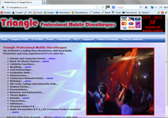 Click to visit Triangle Discos website